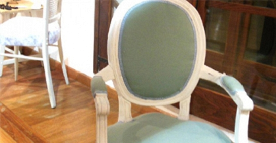 Muebles y articulos para el hogar en color blanco