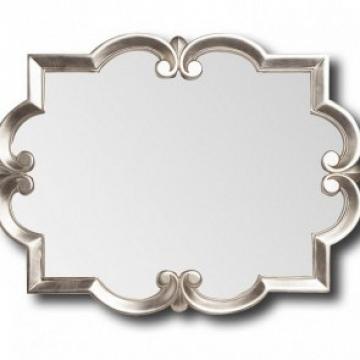 Espejo plata horizontal