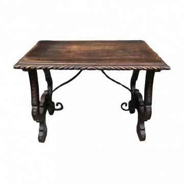 Antigua Consola o mesa auxiliar Castellana Barroca de Castaño.CONSULTAR PRECIO