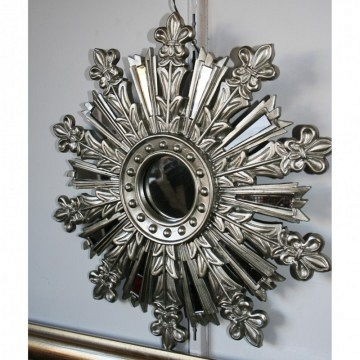 Espejo plata estrella