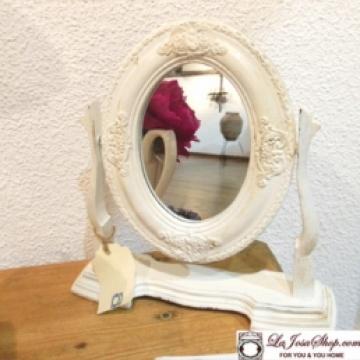 Espejo de tocador vintage  Decape. Estilo Shabby Chic