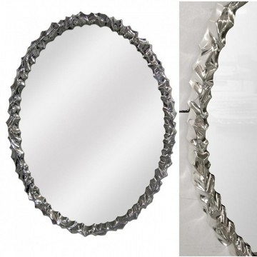 Espejo plata ovalado original