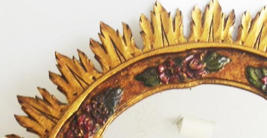 Espejos y adornos Antiguos y Vintage