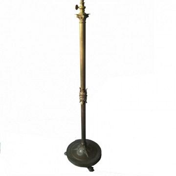 Lampara de bronce vintage estilo Luis XVI
