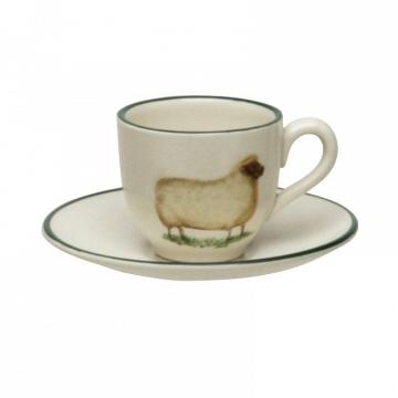 Tazas café animales granja