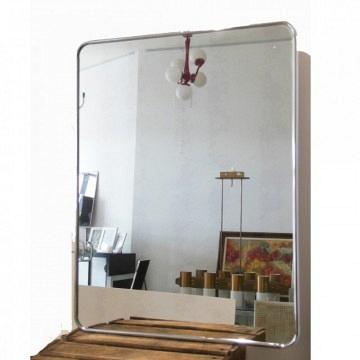 Espejos baño acero inox
