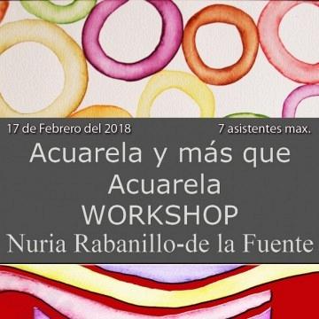 Workshop Acuarela Nuria Rabanillo-de la Fuente - 17 de Febrero de 2018