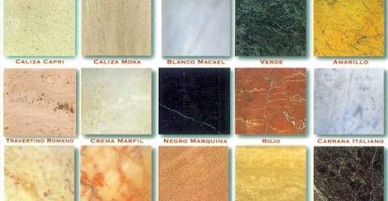 Materiales piedras marmoles granitos y alabastros for Piedras marmoles y granitos