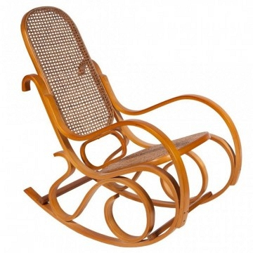 Mecedora Thonet color miel