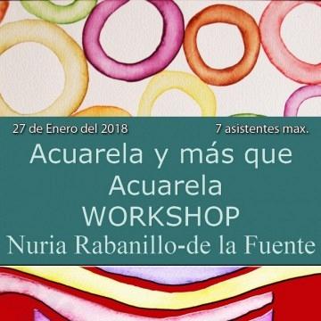 Workshop Acuarela Nuria Rabanillo-de la Fuente 27 de Enero de 2018
