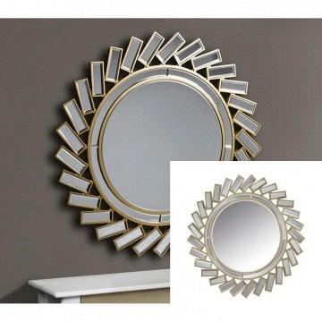 Espejo sol veneciano redondo