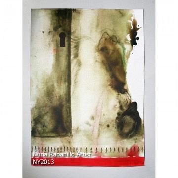 HUMAN 283 Acrilico sobre papel