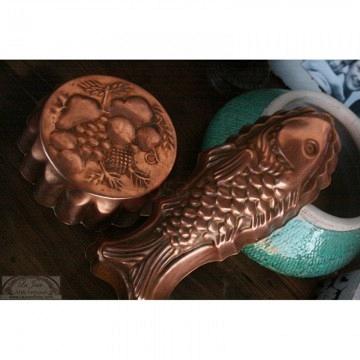 Moldes de cobre vintage