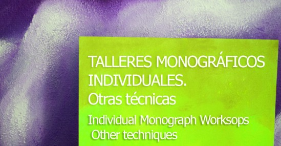 Individual Monograph Worksops ,Other techniques