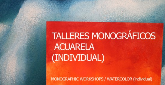 MONOGRAPHIC WORKSHOPS / WATERCOLOR (individual)