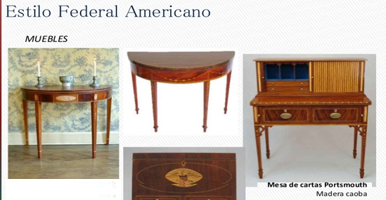 American federal style furniture