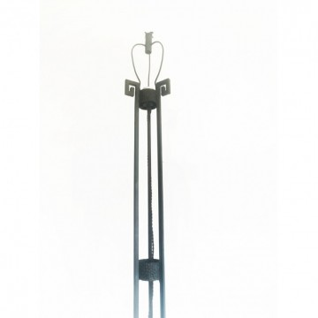 Art deco skyscraper Floor lamp Cast iron