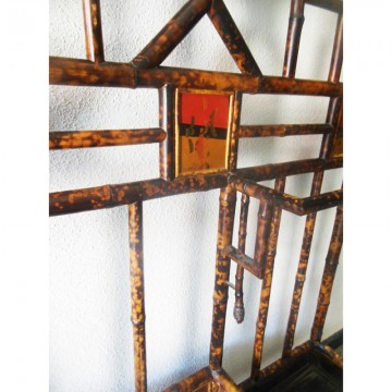 Entrada  bambu  Chippendale Chinoiserie siglo XIX