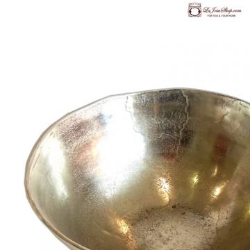 Centro de mesa aluminio  39-18 cm