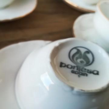 Juego café Pontesa  17 pzas-Nuevo,sin estrenar