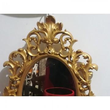 Espejo dorado barroco