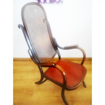 Thonet Lounge Chair Late19th or Early 20th Century/CHECK THE PRICE