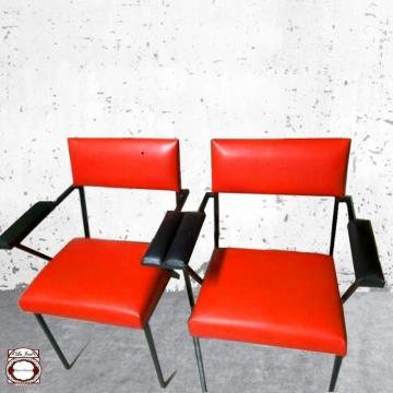 Sillón  vintage rojo Lote 2
