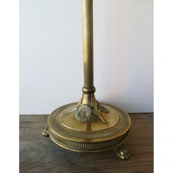 Lampara de pie bronce vintage estilo imperio