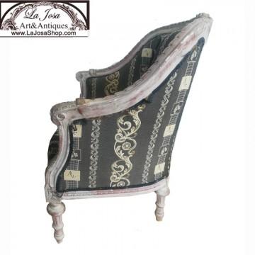 Sillon Luis XV gondola antiguo