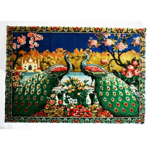 Carpet, Tapestry Wall Decoration Chinoiserie Style.1970s