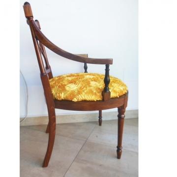 Vintage English chair in mahogany