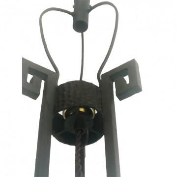 Art deco skyscraper Floor lamp Cast iron