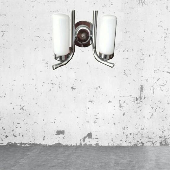 Aplique lampara  vintage cromado .Pieza especial (con historia)