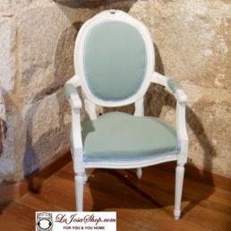 Butaca Luis XVI vintage