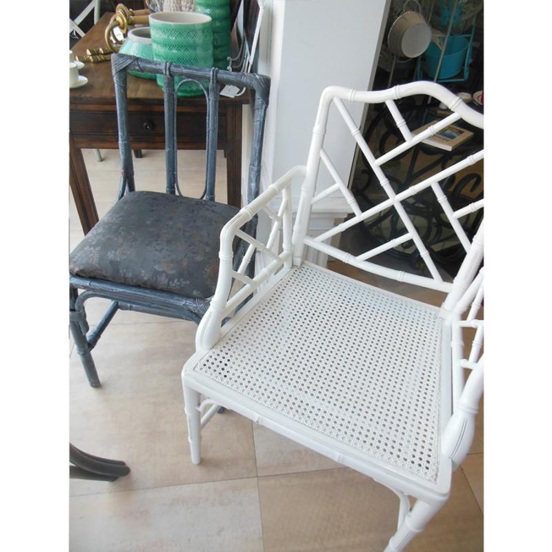 Silone silla chippendale chinoiserie vintage a os 70 de - Sillas chippendale ...